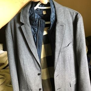 Burberry sport coat with liner attached